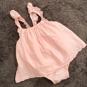 BabyGap pink sleeveless top
